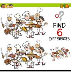 Difference game with chefs vector