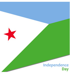 Djibouti independence day vector