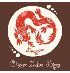 Dragon Chinese Zodiac Sign vector