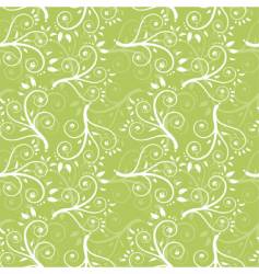 foliage seamless background vector image