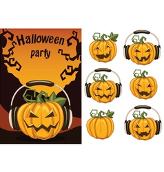 halloweenparty3 vector image