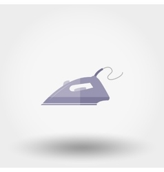 Iron Flat icon vector image
