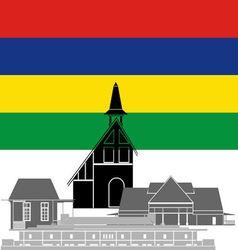 Mauritius vector