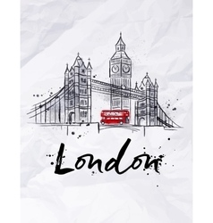 Poster London vector
