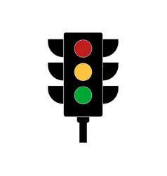 traffic light signal vector image