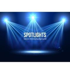Spotlight isolated Scene illumination vector image vector image