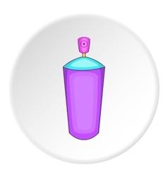 Shaving foam icon cartoon style vector image vector image