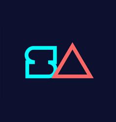 blue orangepastel copy 48 vector image