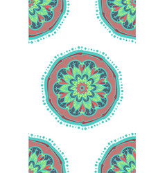 Boho ethnic seamless pattern vector