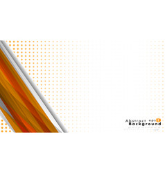 bright abstract background template orange with vector image