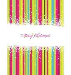 Christmas stripes vector