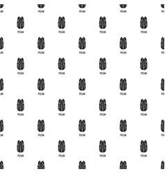 pecan pattern seamless vector image