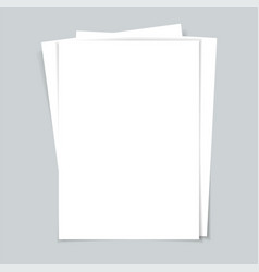 several documents sheets paper vector image