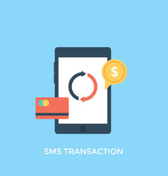 Sms transaction vector