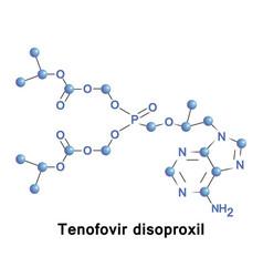 Tenofovir disoproxil drug vector