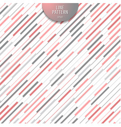 abstract stripe pink and gray diagonal lines vector image