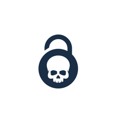 bone security logo icon design vector image