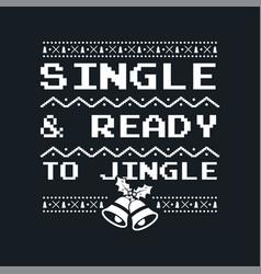 Christmas graphic print t shirt design for ugly vector