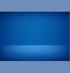 empty stage blue background for presentation vector image