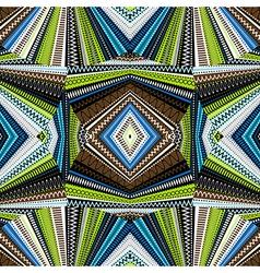 Ethnic background abstract kaleidoscope vector image
