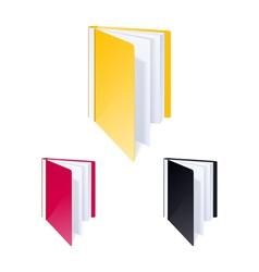 Folder for files vector