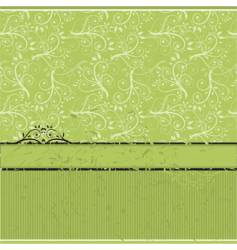 Vintage wallpaper old style vector