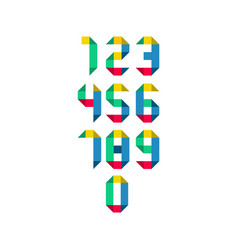 Years anniversary set celebration template design vector