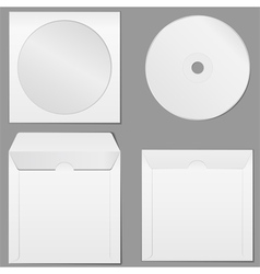 cd case vector image vector image