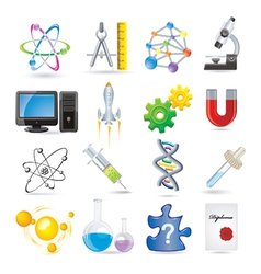 science vector image vector image