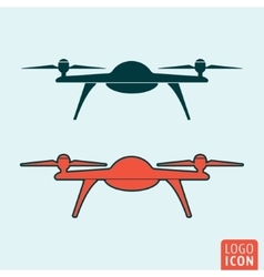 Drone icon isolated vector image