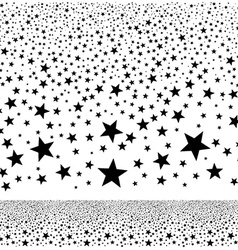 abstract falling stars background vector image