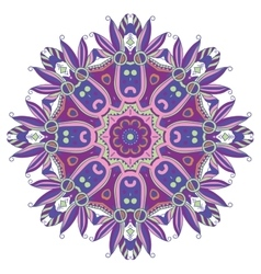 Abstract Hand-drawn Mandala 10 vector image