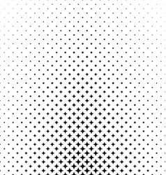 Abstract monochrome star pattern background design vector