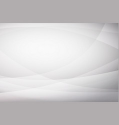 abstract white curve background vector image