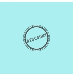 Discount Icon Badge Label or Sticker vector image
