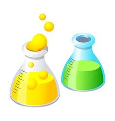 Erlenmeyer flask vector