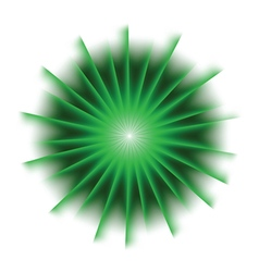 Explosion background with green colors vector