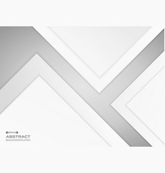gradient gray paper cut background with shadow vector image