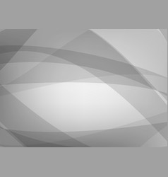 Gray wave abstract background with copy space vector