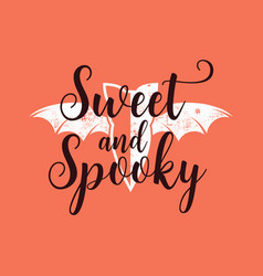 halloween graphic print for t shirt costumes vector image