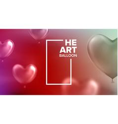 international world heart day nifty banner vector image