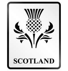 Scotland Sign vector image