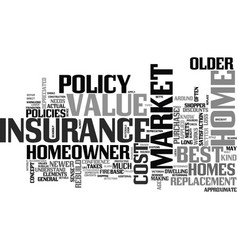best home owner insurance what is the best text vector image vector image