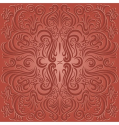 pattern swirl vector image vector image