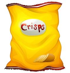 A pack of crisps vector