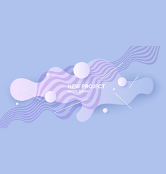 Abstract background with a dynamic splashes vector