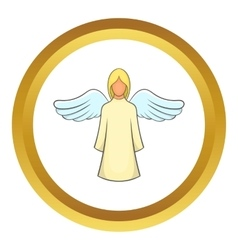 Angel icon vector