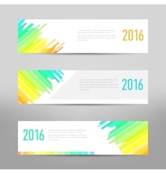 Modern banner - business banner - flyer design vector image