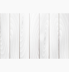 old white wood texture background vector image