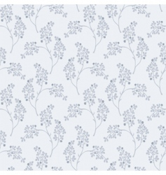 Olive leaf pattern vector